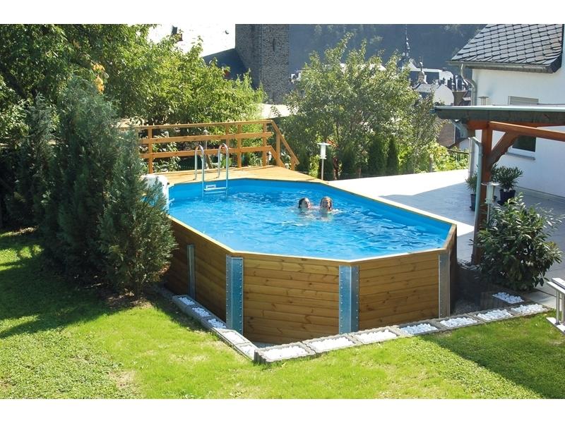 Schwimmbad 594 B 376 x L 714 cm
