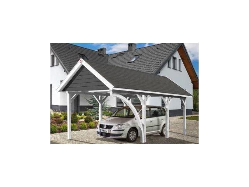 LH-Satteldach-Carport Gr1 B294 x T591 cm