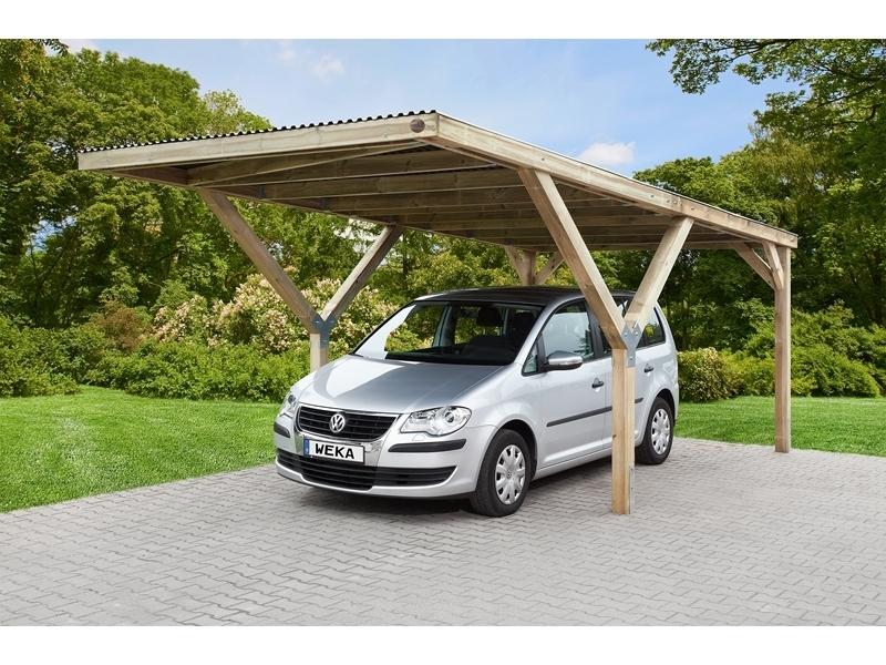 Y-FLACHDACH CARPORT, PVC Dach 306 x 606